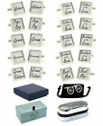 White Wedding Role Cufflinks Groom Best Man Father of the Bride Groomsman etc.