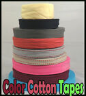 20mm Colour Cotton Herringbone Webbing Trim Edging lace Bunting Apron Craft Tape
