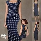 Stop Staring! the LOVE Dress in Navy w White Polka Dots! NWT's,  XS - XL Avail