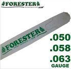 "Forester Replacement Chainsaw Bar 28"" For Husqvarna Fits Large Mount, 3/8 Pitch"