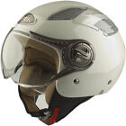 VIPER RS 16 OPEN FACE MOTORCYCLE MOTORBIKE SCOOTER JET HELMET WHITE