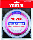 Yo-Zuri HD Flourocarbon Leader Pink 100yds! CHOOSE SIZE