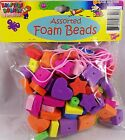 Kids Crafts – Kid's Assorted Foam Bead Kits (2) – 1 LOW Price!