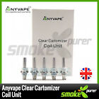 Anyvape REPLACEMENT COILS 1.5, 1.8, 2.2, 2.5 ohm | pack of 5 | X10 BCC | Davide
