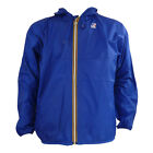 Mens K-Way Claude Classic Royal Windcheater Waterproof Jacket