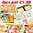 2X Cute Sticker Post It Bookmark Marker Memo Index Sticky Notes Many Designs
