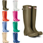 Womens Hunter Original Tall Festival Rain Snow Wellington Boots New UK Sizes 3-9