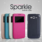 SAMSUNG GRAND 2 G7106 SMART NILLKIN SPARKLE FLIP LEATHER CASE