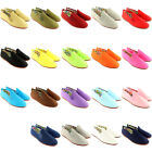 Womens Flossy Kung-Fu Arnedo Slip On Canvas Flat Pumps Shoes Espadrille UK 3-8
