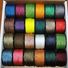 Kyпить New Many Colors Nylon Micro Cord 1.18mm 3/64 by 125ft Rope Spool Made in the USA на еВаy.соm