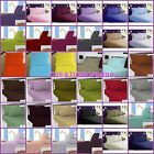 1000TC 100% COTTON 4PCS SHEET SET SOLID KING CAL KING QUEEN FULL TWIN-32 COLORS