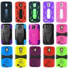 Samsung Galaxy S4 Active I9295 I537 Case Durable Kickstand Double Layer