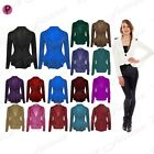 Womens Ladies Spikes Casual Peplum Frill One Button Plain Jacket Coat Blazer Top