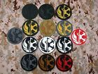 STAR WARS The Jedi Order Insignia and Imperial Logo 3D PVC Patch $5.1 USD