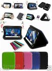 "Speaker Leather Case+Gift For 8"" 8-inch VIZIO VTAB1008 Android Tablet GB5"