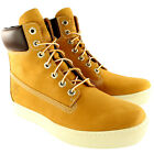 "Mens Timberland Earthkeepers Newmarket Cupsole 6"" Wheat Trainers UK 7-12"