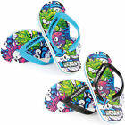 BOYS URBAN BEACH SPIKEY FISH FLIP FLOPS FW 649 13-5 FIRST CLASS POST