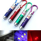 3 in1 Mini Laser Pen Pointer LED Torch Light UV Keychain Pet Cat Toy Pointing JS