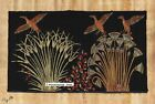 """Egyptian Papyrus Painting - Ducks in the Papyrus March 8X12"""" + Hand Painted #87"""