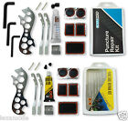 Bicycle Puncture Repair Kit Bike Tyre Small Tool Patch Tube Rubber Cycle Set Box