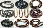 """ETHNIC INSPIRED TRIBAL MENS SIZE 20-40"""" MADE TO ORDER BEADED CHAIN NECKLACE GIFT"""
