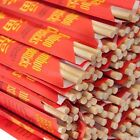 BAMBOO Chopstick Weddin Party Disposable Wrapped Individually Choice 10-1000 set