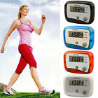 Digital LCD Walking Running Step Calorie Distance Fitness Auto Counter Pedometer
