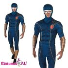 Adult X-Men Cyclops Muscle Licensed Mens Halloween Jumpsuit Fancy Dress Costume