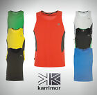 Mens Karrimor Running Vest With Ventilated Panels Size S M L  XL 2XL 3XL 4XL