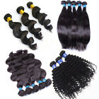 5A 100% virgin brazilian remy human hair weft extensions unprocessed hair 100g