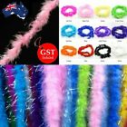 1.8M Sparkling Feather Boa Strip Fluffy Craft Costume Dress up Wedding Party