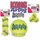 KONG AIR DOG PUPPY SQUEAKER TENNIS BALLS – ALL SIZES, AND THEY FLOAT!!