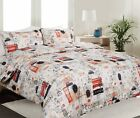 Georges Fine Linens London Town Quilt Cover Set