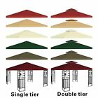 New 10x10 Replacement Canopy Top Patio Pavilion Gazebo Sunshade Polyester Cover