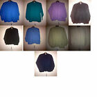 XXL Ladies  Cable Knitted Acrylic Unbranded Cardigans With Pockets All Colours