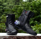 HOT PRO-BIKER MOTORCYCLE RACING BOOTS SPORT ICON BIKE BOOT SHOE FREE SHIPPING