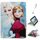 Universal Frozen Elsa Anna PU Leather Case Cover For 9.7 10 10.1 inch Tablets