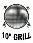 METAL WAFFLE SPEAKER SUB WOOFER GRILLS WITH CLIPS AND SCREWS DJ CAR HOME