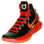 Nike Men's KD V 5 Durant Men's Basketball Shoes Size Black Orange 554988 006