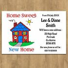 Personalised Change of Address New Home House Moving Cards + Envelopes No3