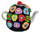 TEA COSY - Groovy Granny Knitted Tea Cosies for Tea Pot - Choose Design