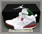 2014 Nike Air Jordan Spizike OG White Varsity Red Cement Grey Green 315371-125