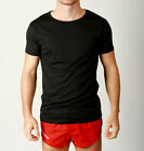 Mens DRY FIT Training Top Gym Weights Muscle Tshirt POLY Fabric Running SLIMFIT