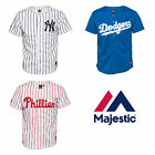 Majestic Athletic Boys New York Yankees, LA Dodgers and Phillies Baseball Jersey