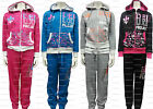 NEW GIRLS DELUXE PROJECT HOODED ZIP TOP & PANTS TRACKSUIT 7 8 9 10 11 12 YEARS