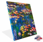 Canvas Print - Water Lillies - Claude Monet - Gallary Wrap or Canvas Only