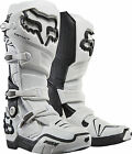 Fox Instinct 2.0 Adult Motocross Boots white UK 7-12 with free mx socks