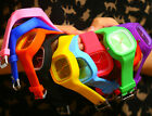 Unisex Jelly Candy Sports Quartz RUBBER Wrist Watch Men Womens Party Gift *1