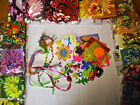 30pc+card making kit,craft clear out.x-mas,b-day,flowers,butterflies,hearts,kids
