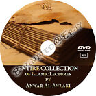 Entire Collection of Anwar Awlaki, Audio MP3, 3 CD or 1 DVD, Islamic Lectures